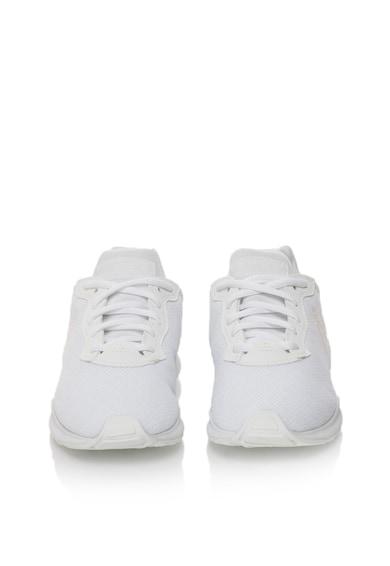 Le Coq Sportif Pantofi sport albi cu detaliu cu irizatii LCS R XVI Femei