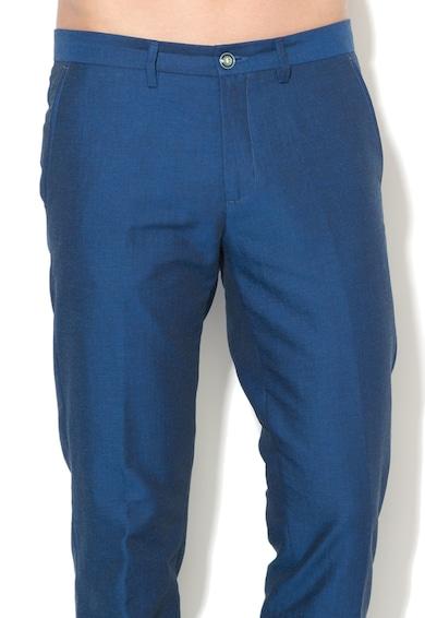 United Colors of Benetton Pantaloni chino slim fit albastru safir Barbati