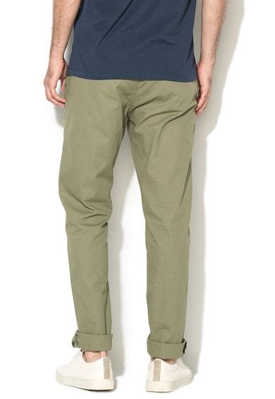Greystone Pantaloni chino regular fit verde prafuit Chris Barbati