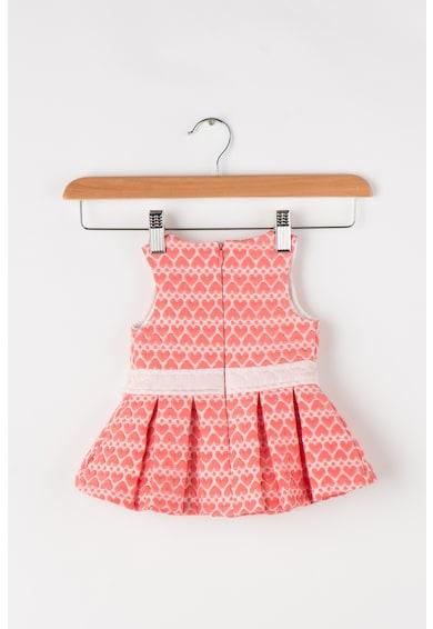 GUESS JEANS Set de rochie evazata texturata cu inimi si pantaloni scurti Fete