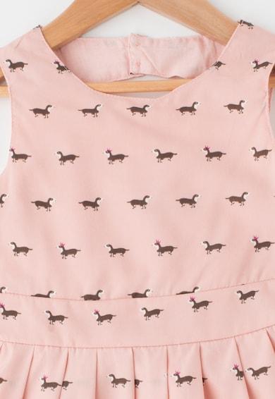 Yumi Rochie cu imprimeu cu animale Fete