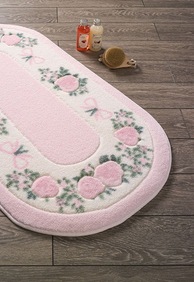 Confetti Covor  Rose Frame - Pink, 80 x 140 cm Femei