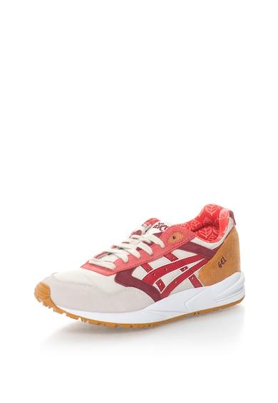 Asics Pantofi sport de piele intoarsa si material textil GEL SAGA Femei