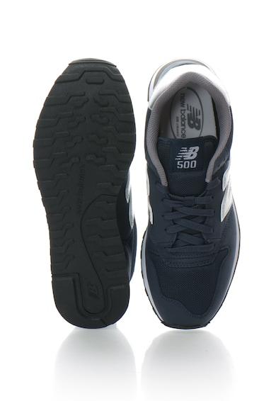 New Balance Pantofi sport cu detalii metalice 500 Classic Barbati