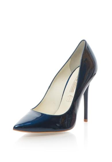 Buffalo Pantofi stiletto de piele lacuita cu varf ascutit Femei