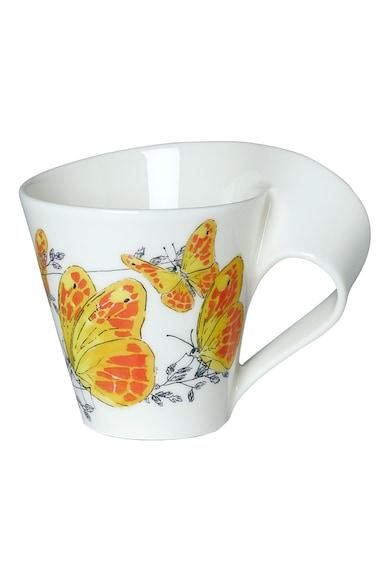 Villeroy&Boch Cana  colectie New Wave Caffe Orange washed sulphur, 300 ml, premium portelan Femei
