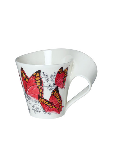 Villeroy&Boch Cana  colectie New Wave Caffe Noble leafwing, 300 ml, premium portelan Femei