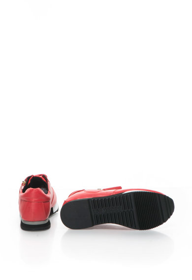 Love Moschino Pantofi sport cu fermoar decorativ Femei