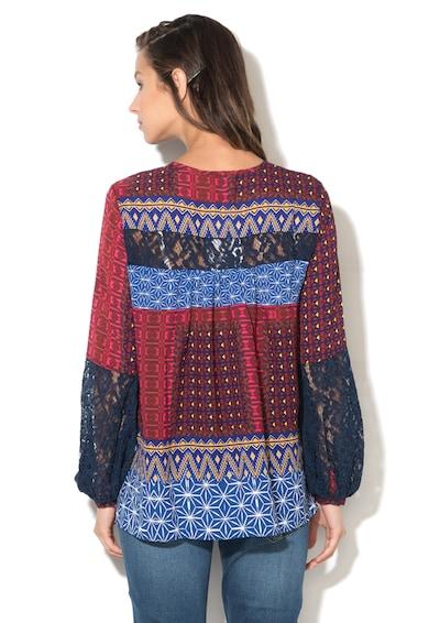 DESIGUAL Bluza cu croiala A si imprimeu Mona Femei