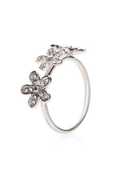Diamond Style Set de inele Daisy Stacking Femei