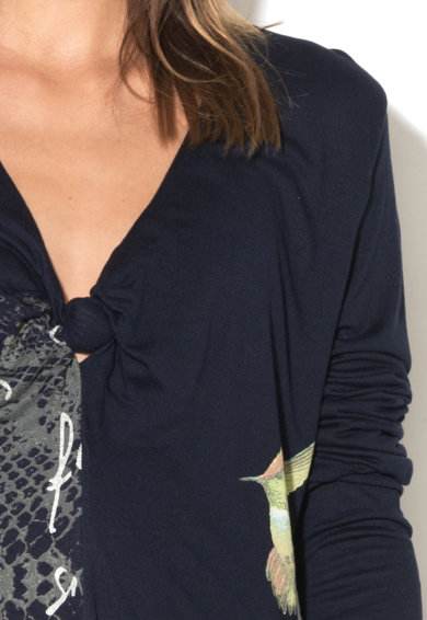 DESIGUAL Rochie cu decolteu in V cu detaliu rasucit Carina Femei