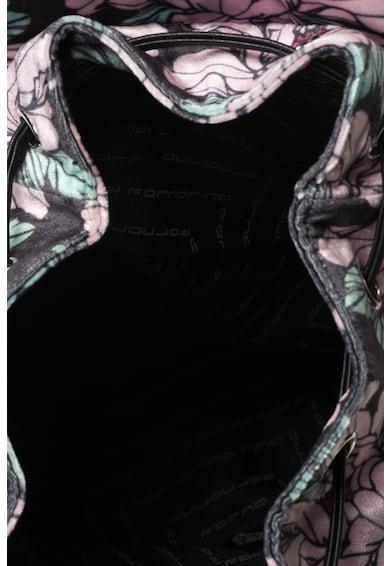Fornarina Rucsac din catifea cu imprimeu Ivy Femei