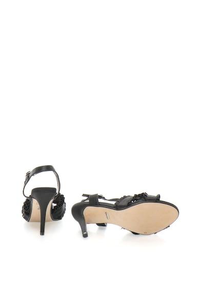 Buffalo Sandale de satin cu toc ascutit Femei