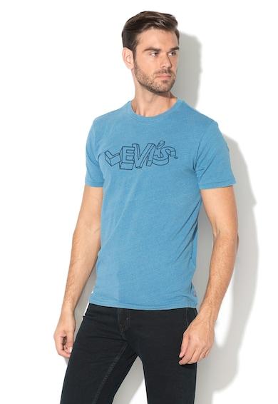 Levi's Tricou cu decolteu la baza gatului si imprimeu Barbati