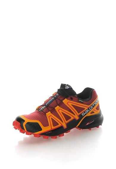 Salomon Pantofi cu detalii contrastante pentru alergare pe teren accidentat SpeedCross 4 Gtx® Barbati