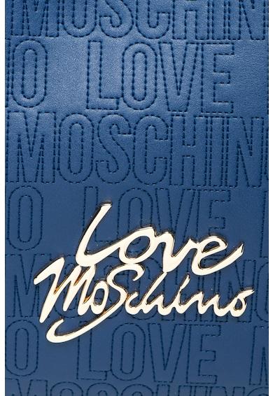 Love Moschino Geanta shopper din piele sintetica cu aplicatie logo Femei