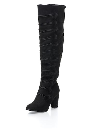 Oakoui Cizme inalte peste genunchi cu toc inalt Femei