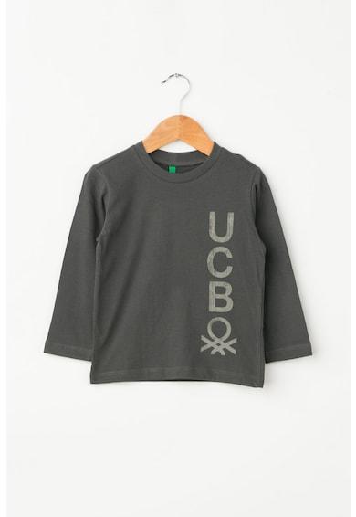 United Colors of Benetton Bluza cu imprimeu logo Baieti