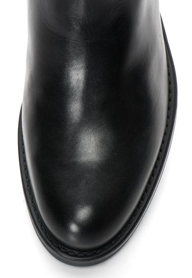 Zee Lane Cizme inalte pana la genunchi de piele cu catarama decorativa Femei