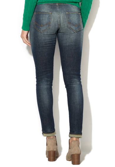 United Colors of Benetton Blugi super skinny cu aspect decolorat Femei