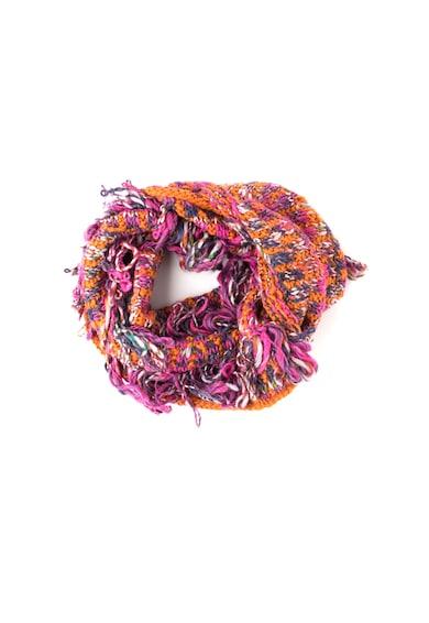 United Colors of Benetton Fular circular cu franjuri Femei