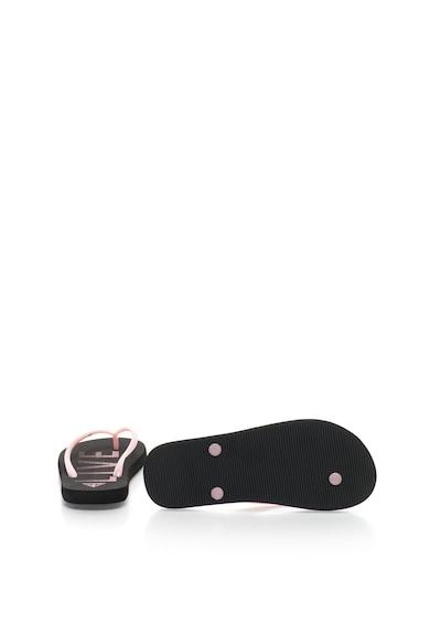 Guess Papuci flip-flop cu logo in relief Femei