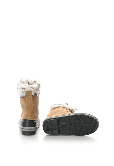 Kimberfeel Cizme de iarna fara inchidere cu garnitura de blana sintetica Elisa Femei