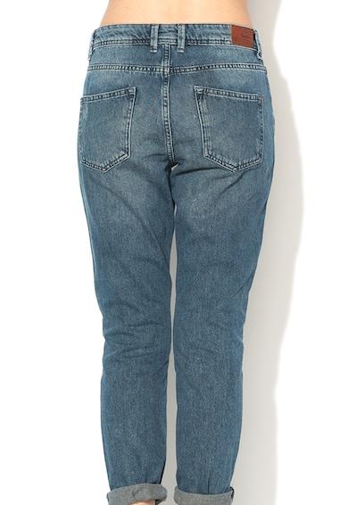 Pepe Jeans London Blugi mom fit cu talie inalta Violet Femei