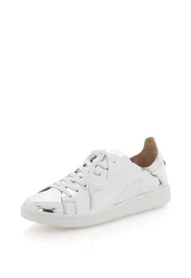 Schutz Pantofi sport de piele cu aspect metalic Femei