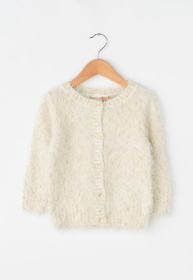 NAME IT Cardigan pufos cu insertii de lurex Basta Fete