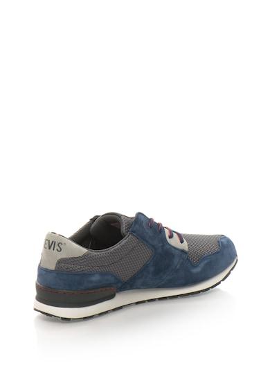 Levi's Pantofi sport cu insertii de piele intoarsa si plasa Barbati