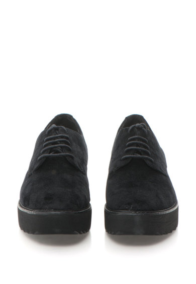 s.Oliver Pantofi flatform de catifea Femei