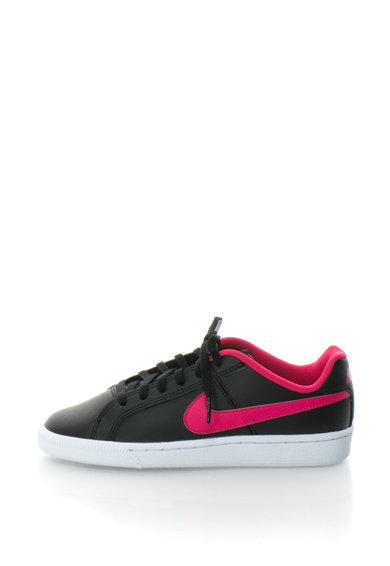 Nike Pantofi sport de piele cu garnituri contrastante Court Royale Fete