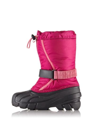 Sorel Cizme de iarna impermeabile cu snur Youth Flurry Baieti
