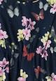 Yumi Rochie cu imprimeu floral si volan Fete
